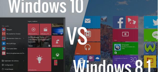 Что лучше Виндовс 8 или 10: сравниваем операционные системы по основным параметрам