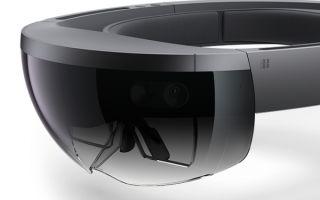 Чип Intel Atom Cherry Trail в шлеме Hololens от Майкрософт