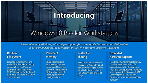 Pro и Pro for Workstations